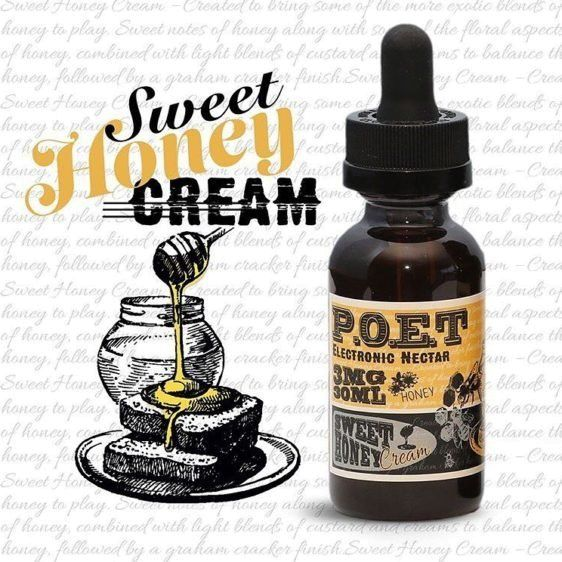 P.O.E.T Sweet honey 30ml