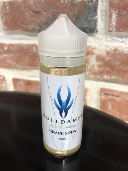 Volldampf Traubensoda 120 ml