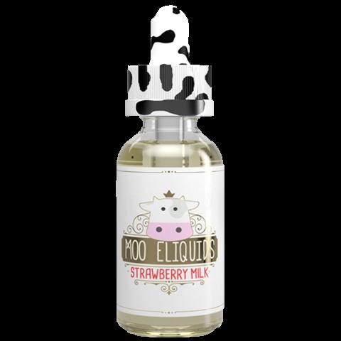 Moo E Liquid Erdbeer Milch 30 ml